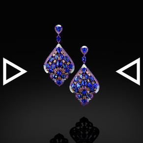 《The Cyathea Leaf Earrings》