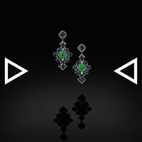 The Gem'snowflake Earrings