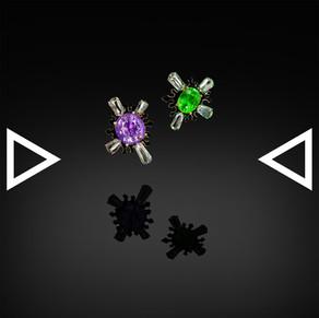 The Ink Drop Earrings