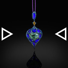 The Heart of Okeanos Pendant