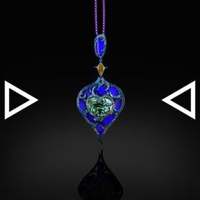 The Heart of Okeanos Pendant