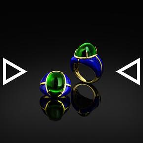 The Blue Aphrodisiac Ring
