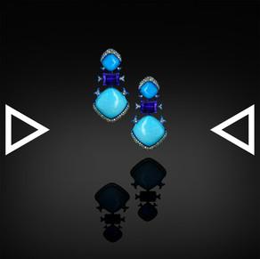 The Leadwort Earrings