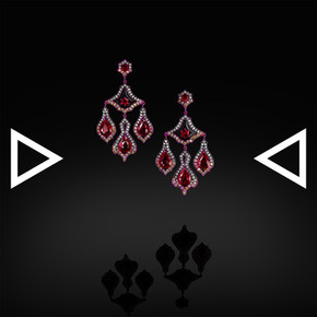 The Rubie' Bellflower Earrings