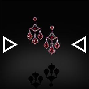 The Rubie' Bellflower Earrings