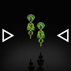 The Acacia's Fall Earrings