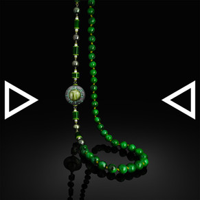 THe Golden Eye of Bastet Necklace