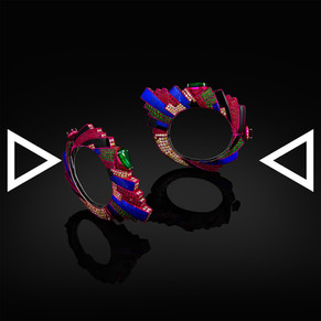 The Enter the Void Bangle