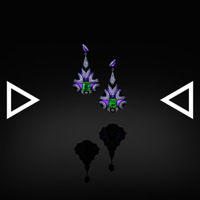 The Papuans' Wargroove Earring