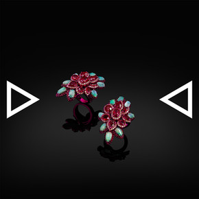 The Cherry Knot Ring