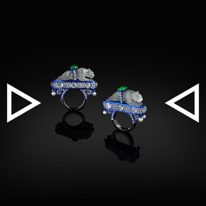 The Ocelotl Temple Ring