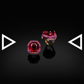 The Pink Panther Ring