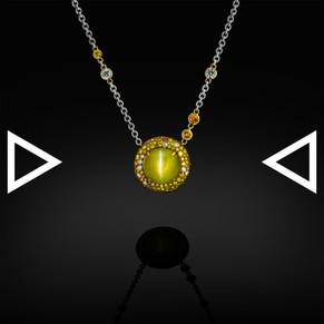 The Eye of Bastet Necklace
