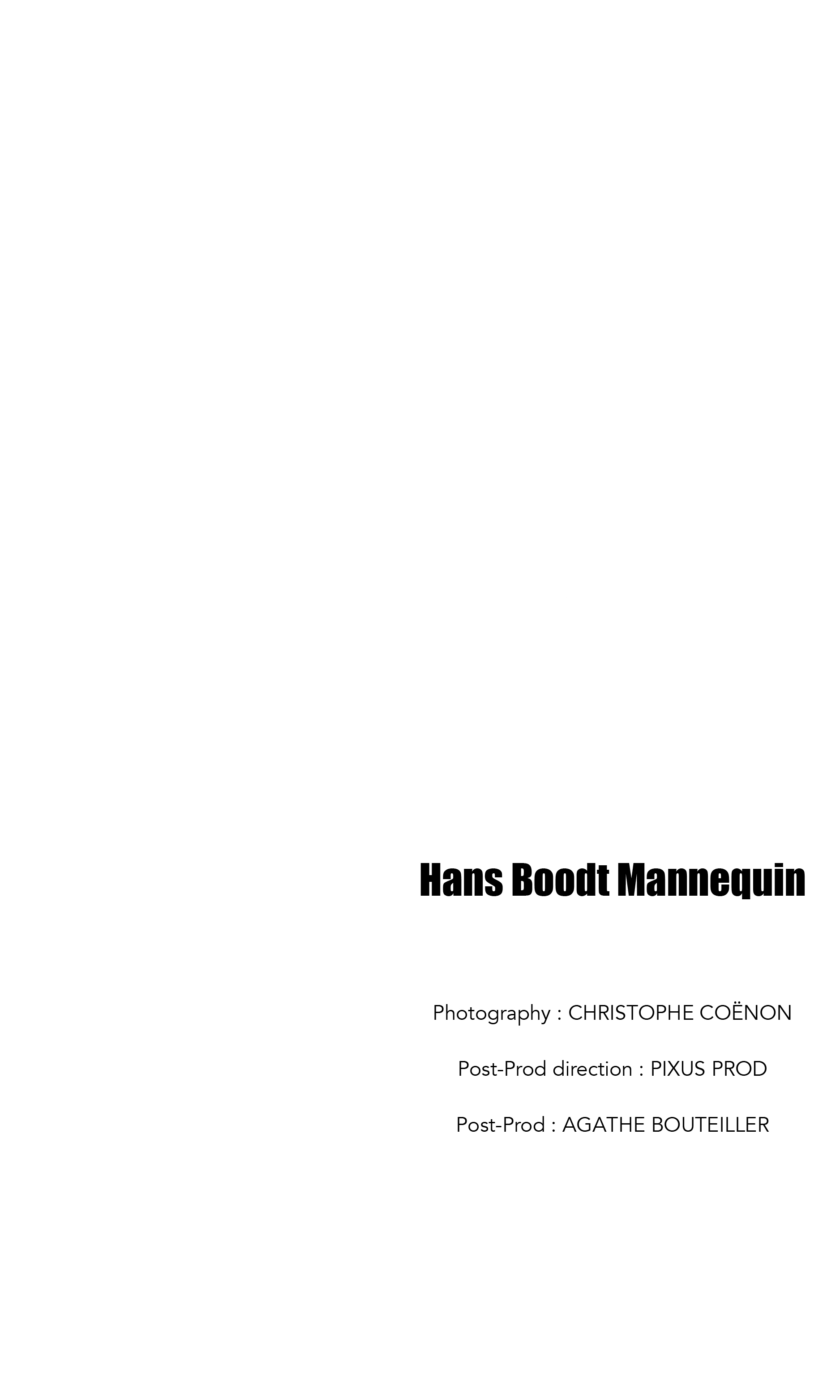 Hans Boodt Mannequin