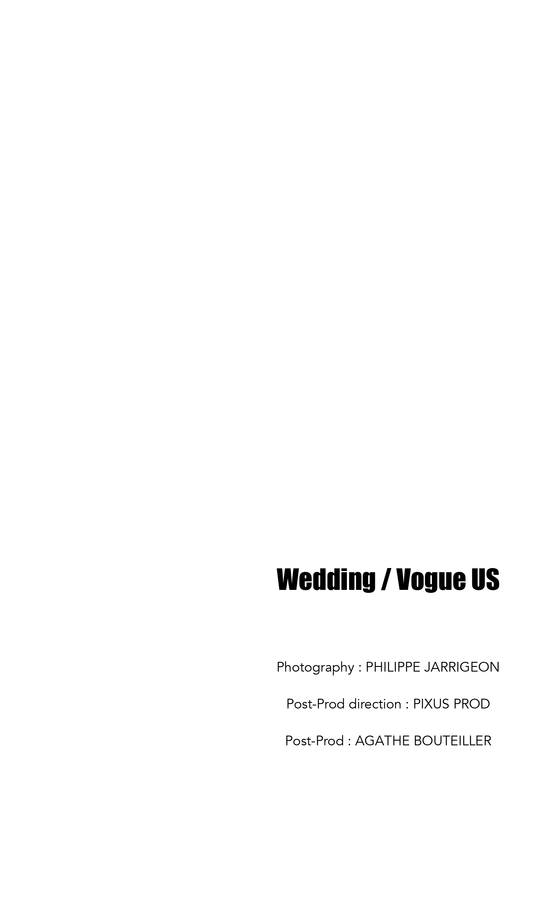 Wedding / Vogue US
