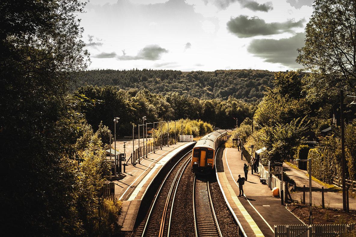 Grindleford Train