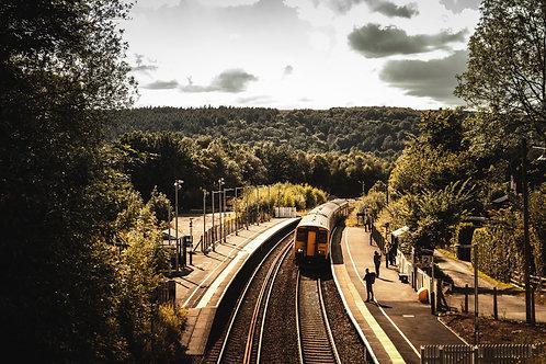 Grindleford station - Digital Print