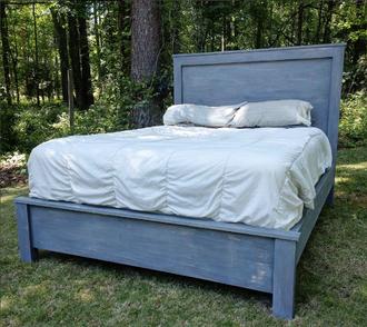 modern minimalist bed
