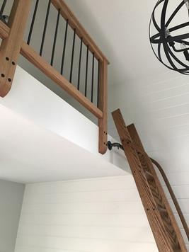 Wood ladder made-to-order Artfxwoodworks