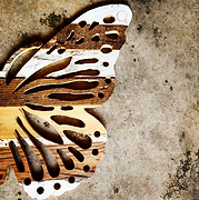 Butterfly art wall hanging decor.png