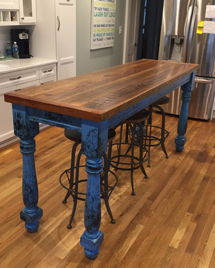 farm table custom built