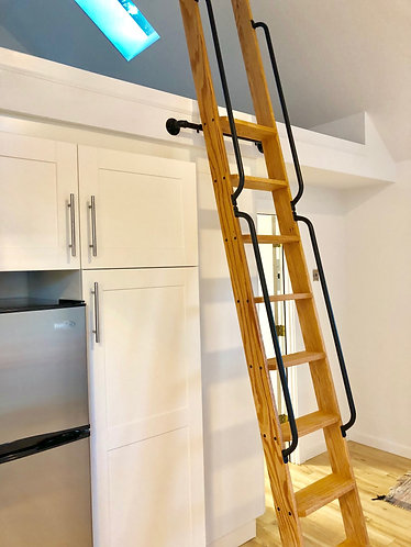 Loft Ladder | Library Ladder | Painted | Stained | Unfinished