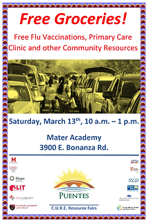 3-13-2021 Resource Fair Poster, English.
