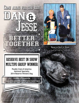 Jesse wins Reserve Best in Show