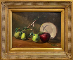 Robinson Green Apples 9x12 430