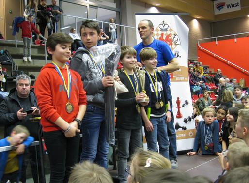 Finale francophone Inter-écoles - Saint Médard CHAMPION !!!!!