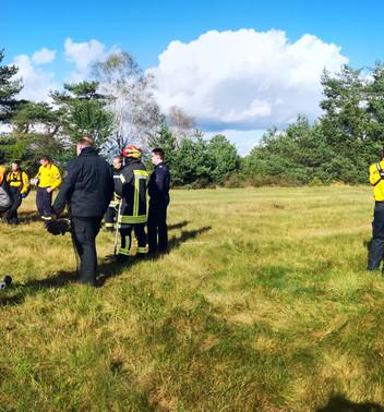 """""""Leben in der Lage"""" oder Feuereinsatz zur Vegetationsbrandbekämpfung"""