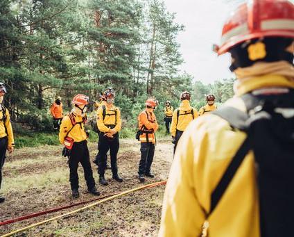 Students of Fire - Das Feuercamp 2020 des Waldbrandteam e.V. war ein voller Erfolg