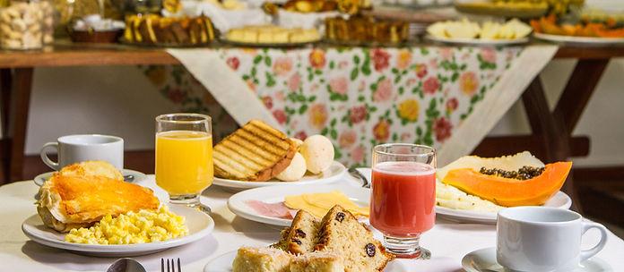 Melhor café da manhã em Campos do Jordão - Pousada Serena Campos do Jordão