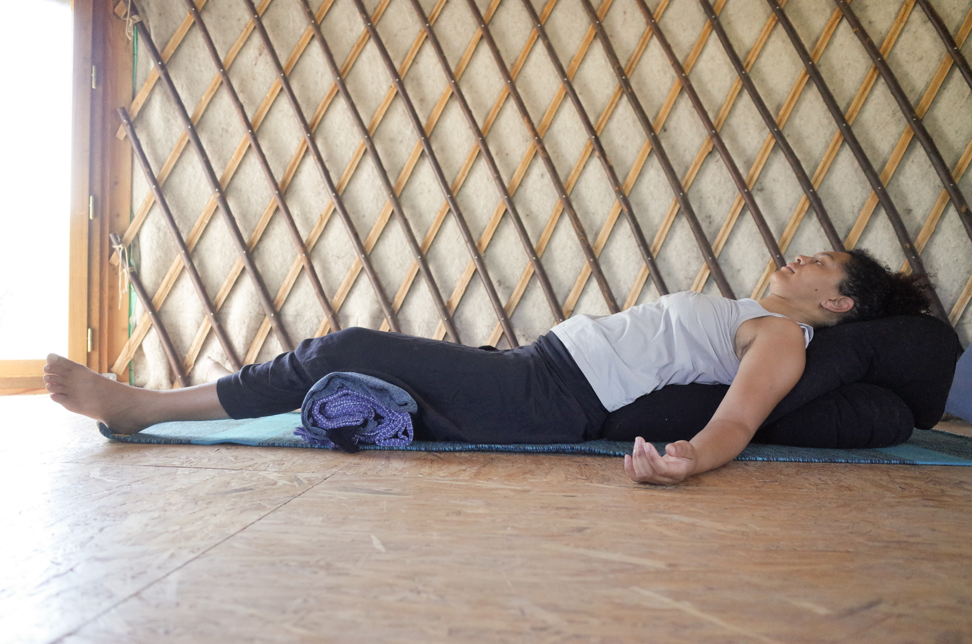 relaxation yin yoga Angers
