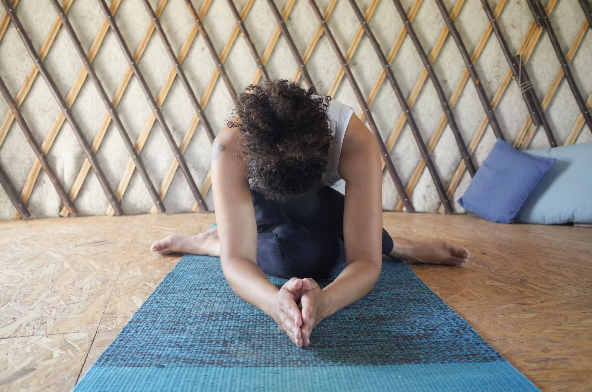 lacet shoelace yin yoga Angers