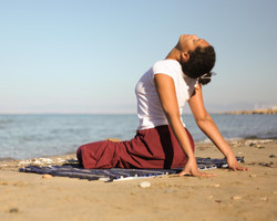 ouverture coeur yin yoga Angers