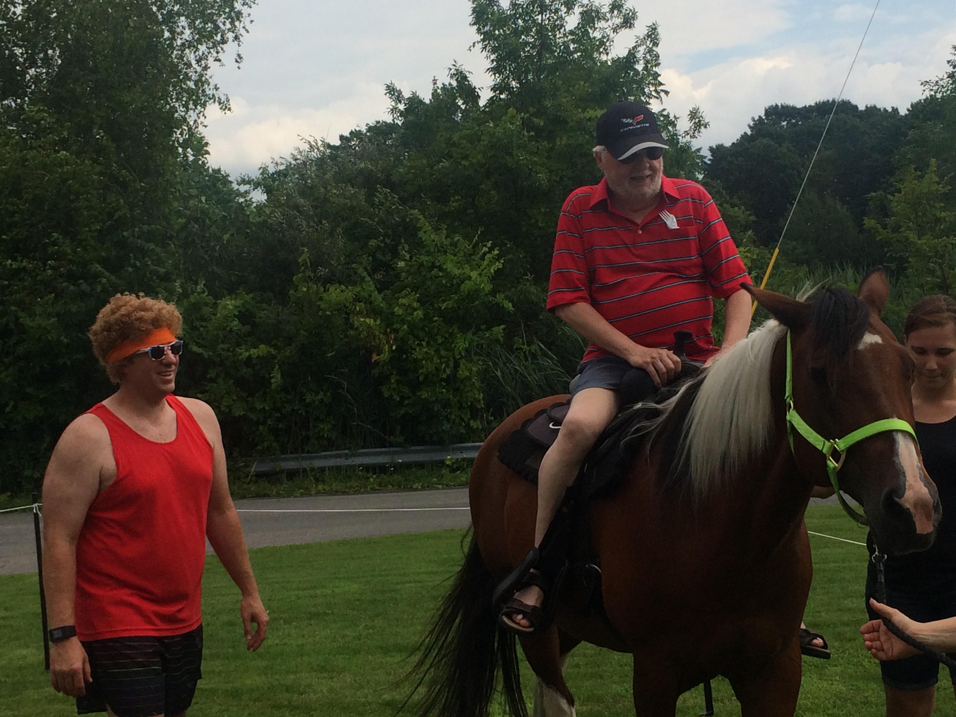 John on Horse