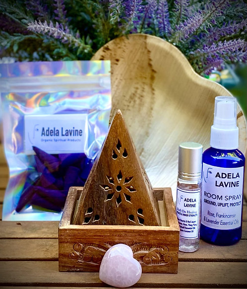 Adela's Heart Healing & Inner Strength Kit