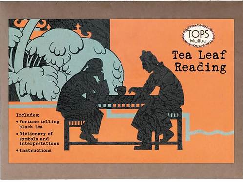 Tasseography (Tea Leaf Reading)