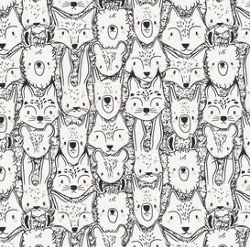 Coloring Book-Animals Mask