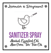 Lavender & Bergamont Sanitizer Spray