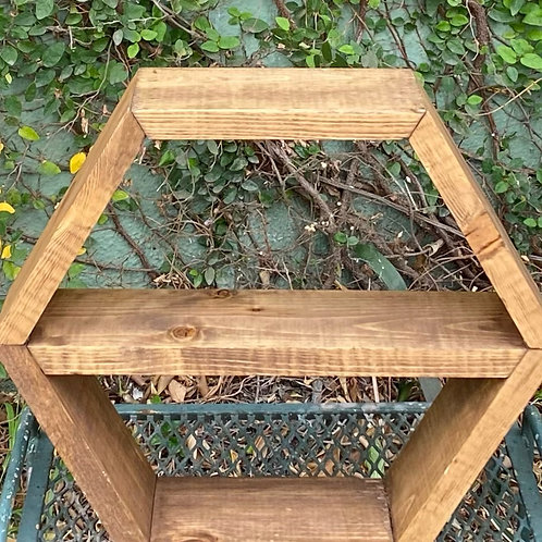 Small Hexagon Shelf
