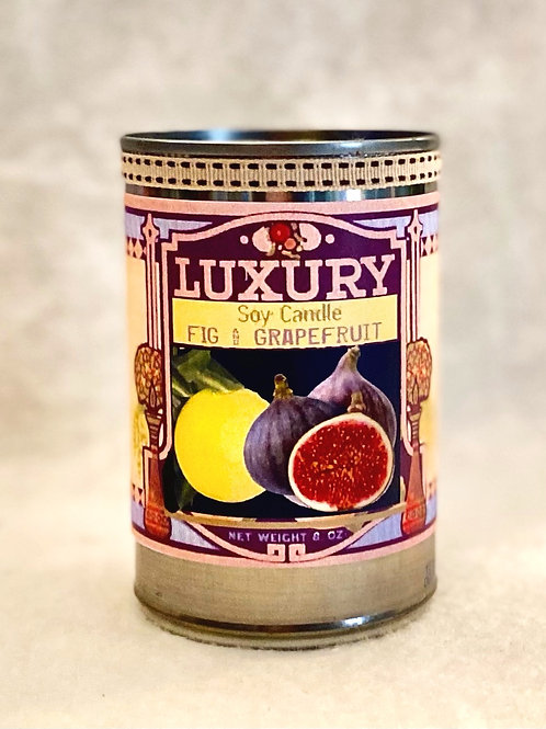 Fig & Grapefruit Soy Tin Candle