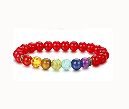Amber Chakra Bracelet