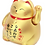Thumbnail: Gold Beckoning Japanese Fortune Cat