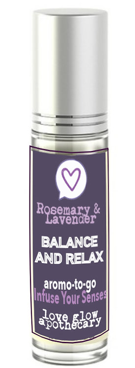 "Rosemary & Lavender ""BALANCE & RELAX"""