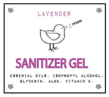 Lavender Sanitizer Gel