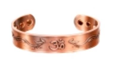 "Tibetan ""Om"" Copper Bracelets"