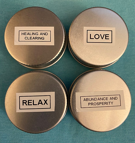 Incense Blends (4) - Relax, Abundance, Healing, Love