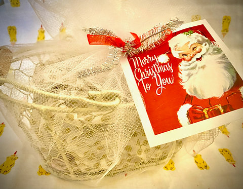 Add a Gift Wrapped Basket